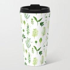 Leaves Metal Travel Mug