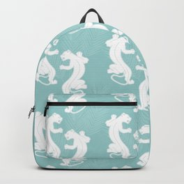 White Panther Backpack