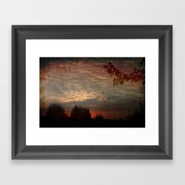 The early bird gets the worm Framed Art Print