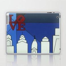 blue LOVE shine Laptop & iPad Skin
