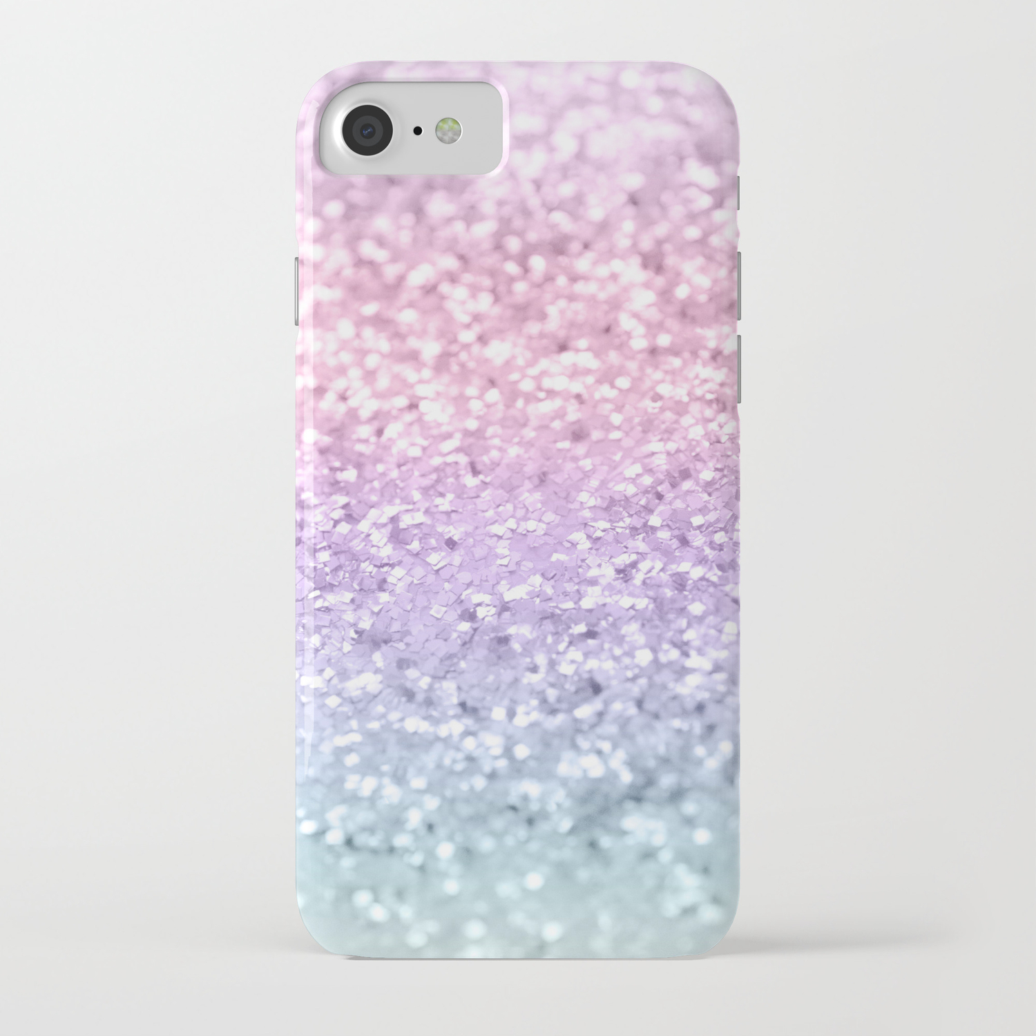 huge discount e0f2d 6411c Unicorn Girls Glitter #1 #shiny #pastel #decor #art #society6 iPhone Case