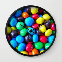 Crispy Colorful Candy Wall Clock