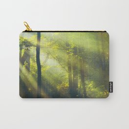 Rays - Morning Light in a Forest Carry-All Pouch