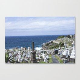 Waverly Cemetary Canvas Print