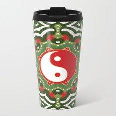Holiday Festive Balance Yin Yang Metal Travel Mug