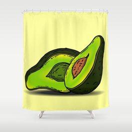 I love Avocados Shower Curtain