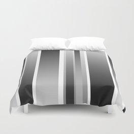 Color Black gray Duvet Cover