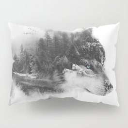 Wolf Stalking Pillow Sham