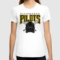 pittsburgh T-shirts featuring Pittsburgh Pilots by Ant Atomic
