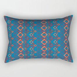 Ethnic ikat pattern.6 Rectangular Pillow