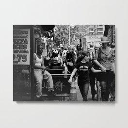 NYC Urban Typology Metal Print