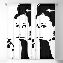 Audrey Hepburn Blackout Curtain