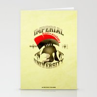 skyrim Stationery Cards featuring Imperial University(Skyrim) by Chubbybuddhist