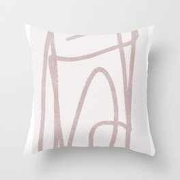 Line of thought 1 Throw Pillow