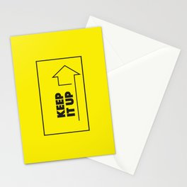 Keep it Up! Stationery Cards