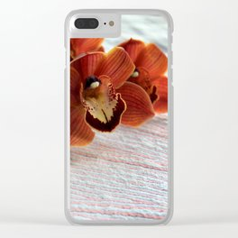 Subtle Stripes Clear iPhone Case