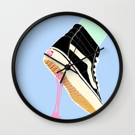 BUBBLE GUM NEVER DIES Wall Clock