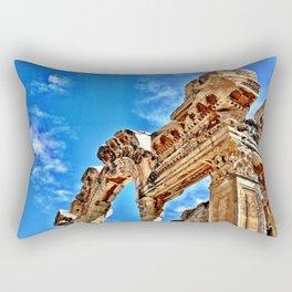 Ephesus Arch Rectangular Pillow
