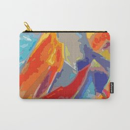 Abstract colorful Mountains at sunset Carry-All Pouch