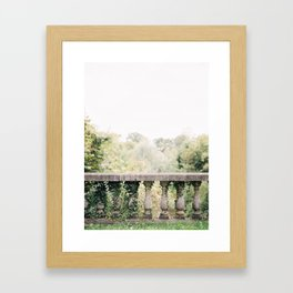 Castle van Poeke Garden Framed Art Print