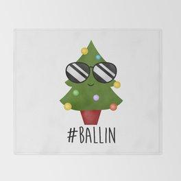 #Ballin Throw Blanket