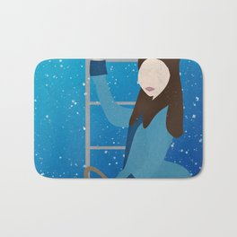 Souffle Girl, Clara Oswin Oswald - Doctor Who Bath Mat
