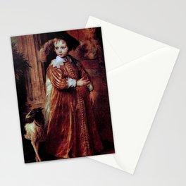 Anthony van Dyck - Portrait of Willem II van Oranje-Nassau (1626-1650) as a child Stationery Cards