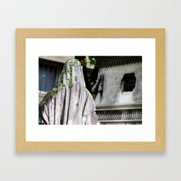 She haunts me... Framed Art Print