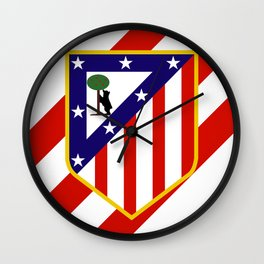 Atletico Madrid Wall Clock