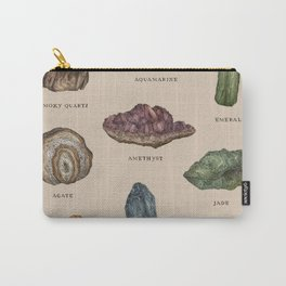 Gems and Minerals Carry-All Pouch