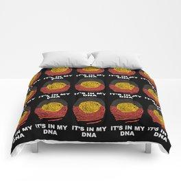 Aboriginal DNA Print Comforters
