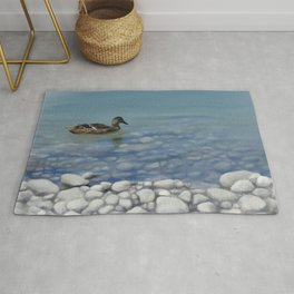 Clear water Rug