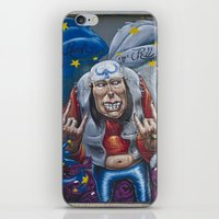 rock and roll iPhone & iPod Skins featuring Rock&Roll by Roberto Pagani