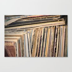Album Covers Canvas Print