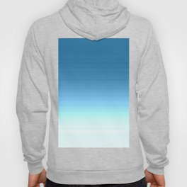 Sea blue Ombre Hoody