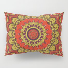 Mandala Fractal in Indian Summer 03 Pillow Sham