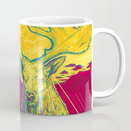 Stag Dimension of Yellow Coffee Mug
