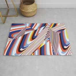 Over Lines Rug