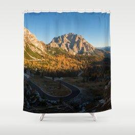 Dolomites 25 - Italy Shower Curtain