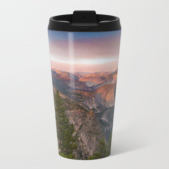 Hills through the window 2 Metal Travel Mug