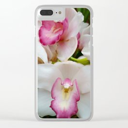 Orchid in Pink Clear iPhone Case