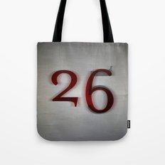 26 Tote Bag