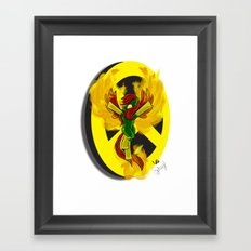Phoeny | Mutant Little Ponies Framed Art Print