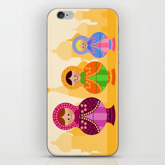 Matrioskas 2 (Russian dolls 2) iPhone & iPod Skin