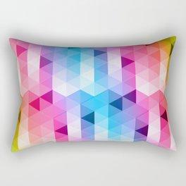 Perspectiva de colores Rectangular Pillow