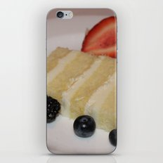 Slice of a Wedding Cake iPhone & iPod Skin