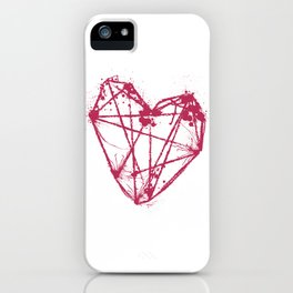 The Attaching Strings  iPhone Case