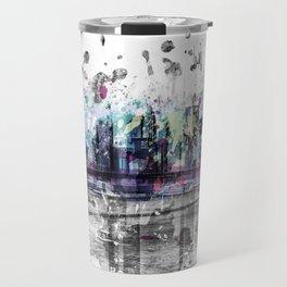 Modern Art NEW YORK CITY Skyline | Splashes Travel Mug