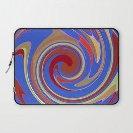 Twirling Blue Laptop Sleeve