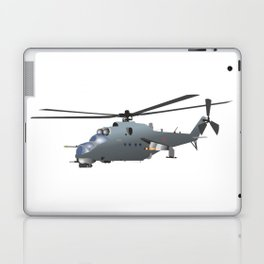Russian Attack Helicopter Mi-24 Laptop & iPad Skin